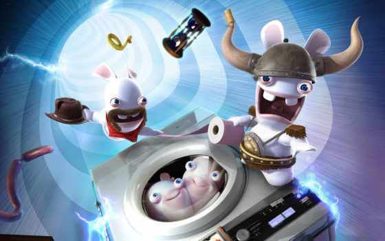 rabbids, raving, кролики