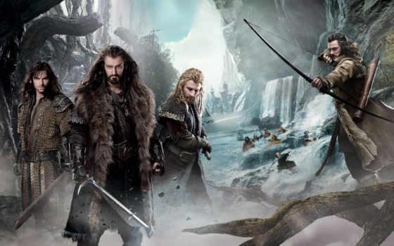 hobbit, wasteland, смауг, смауга, запустение, thorin, сниматься, again, спина,