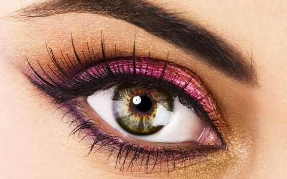 свет, глаз, макияж