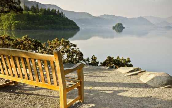 скамейка, free, breathtaking,