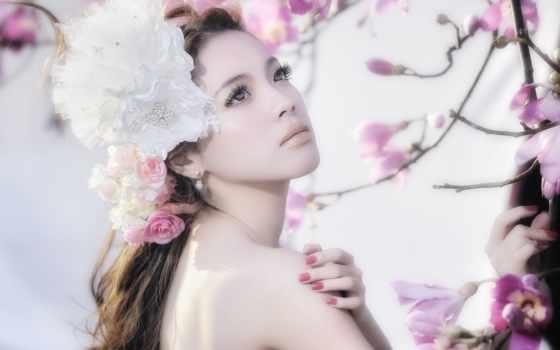 девушка, girls, цветы, best,