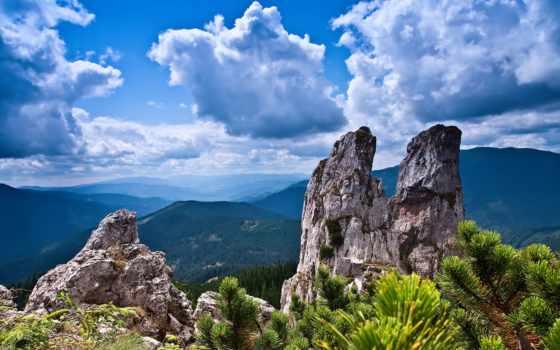 ultra, desktop, landscapes, часть, количество, природы, горы,
