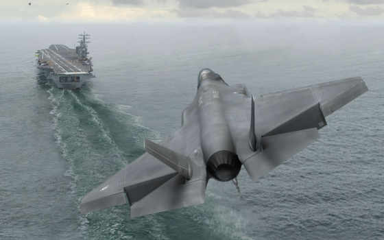 lightning, aircraft, carrier, lockheed, посадка, fighter, raptor, martin, military, истребителя,