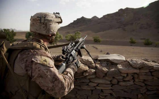 широкоформатные, оружие, мужчины