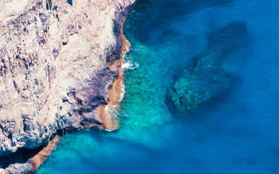 пляж, море, камень Фон № 121586 разрешение 1920x1200