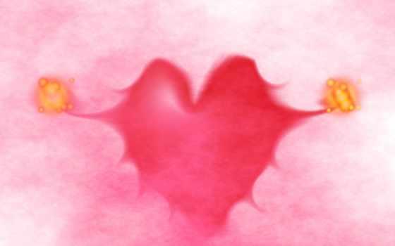 love, сердце, full