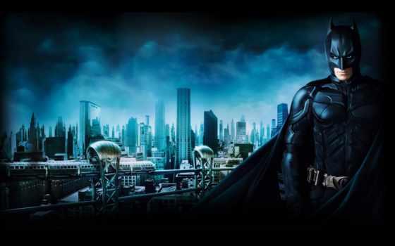 ecran, fond, batman, fonds, tons, ville, изображение,