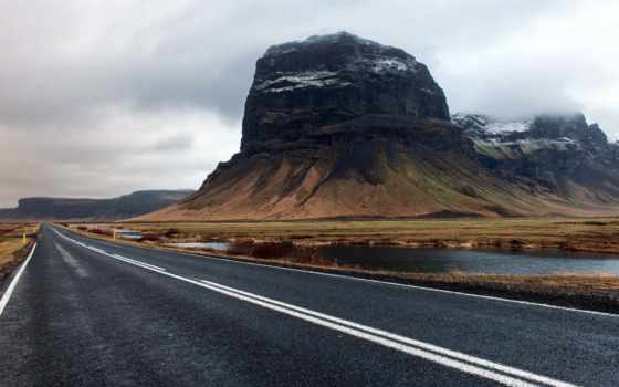 fondos, landscape, дорога