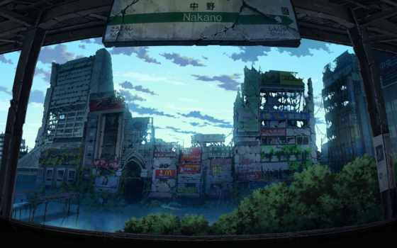 anime, tokyo, tokyogenso, art, amino, пост, apocalyptic, tokio,