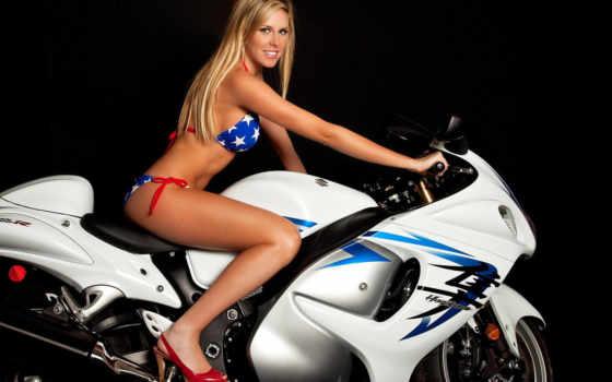 bikes, девушка