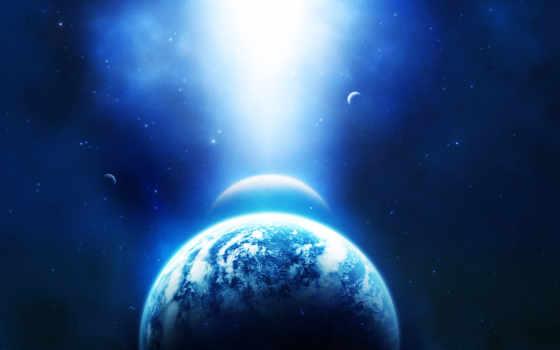 звезды, земля, планеты, space, вселенная, planets, blue, planet, падает, картинка, планету, свет, outer, galaxies, stars, desktop,