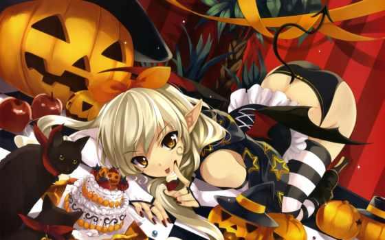 halloween, misaki, kurehito, картинка, anime, рисунок, девушка, эпизод, сюжет, panties, картинку,