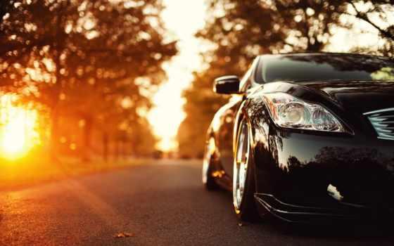 авто, car, закате