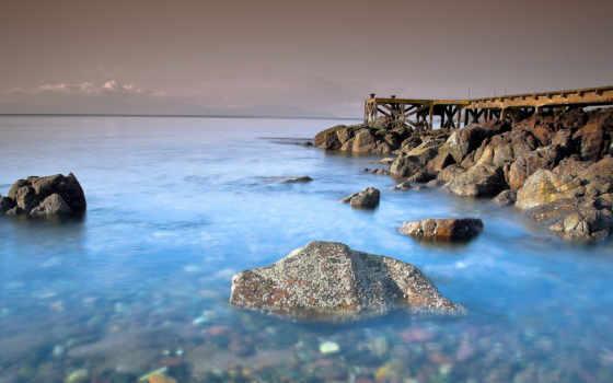 море, моря, берег