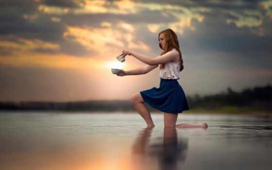 юбка, water, desktop, литра, девушка, ножки, воде,