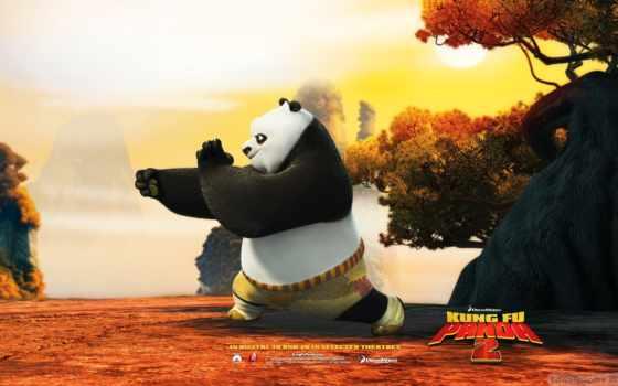 animated, панда, movie