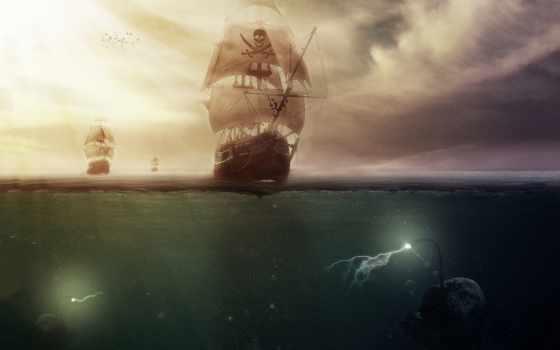 fantasy, морские, pinterest, корабли, jack, море, лучшая, коллекция, чудовища,