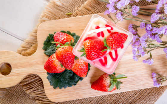 клубника, ягода, fresh