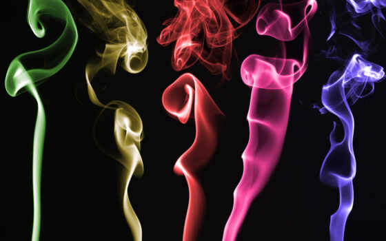 colors, smoke, artistic