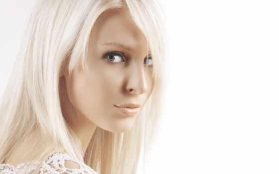 white, девушка, blonde