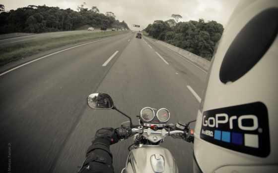 gopro, мотоцикл, герой