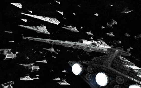 корабли, войны, звездные