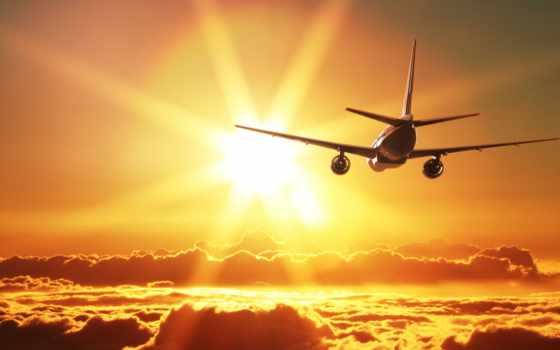 самолёт, авиация, разделе, пассажирский,