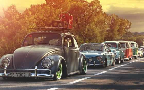 volkswagen, ретро, жук, машины, автомобили, авто, bus, golf, самые,