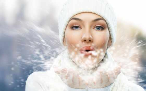 winter, skin, зимой