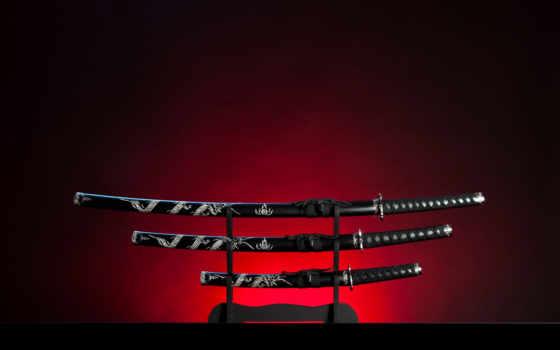 самурай, меч, stock, катана,