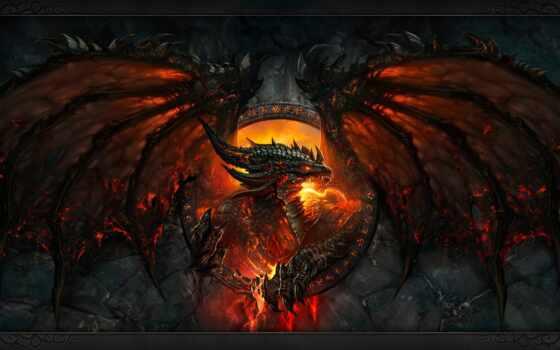 дракон, warcraft, world, game, wow