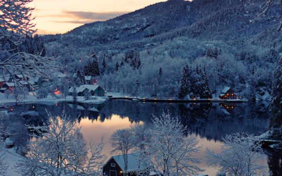 норвегия, природа