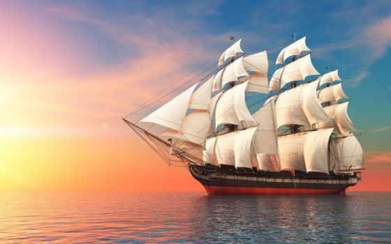 sailboat, парусники, detail, корабли, everything, фотообои, страница, пазлы,