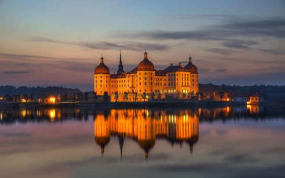 замки, древние, морицбург, города, castle, город, moritzburg, материал, name, картинок, файлов,