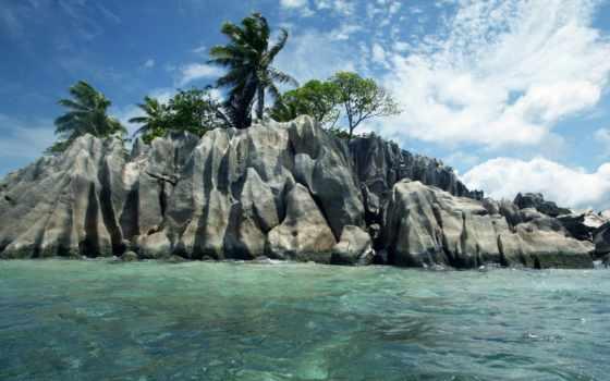 seychelles, камни, ocean, природа, скалы, relax, отдых, exotica, сейшельские, острова, пальмы,