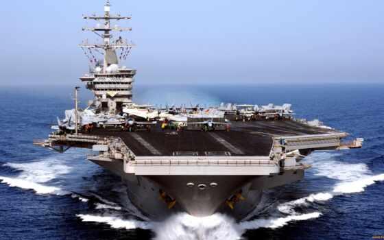 uss, назад, день, военный, eisenhower, авианосец, reserve, правильный, medium, digital