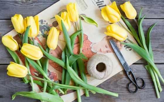 марта, цветы, profile
