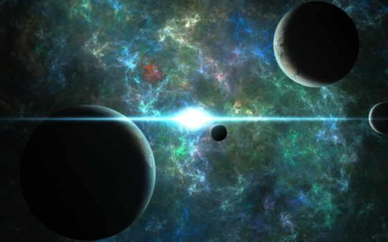 планеты, космос, совершенно