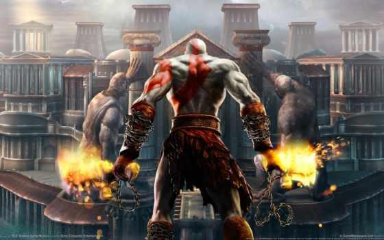 war, god, kratos, игры, ascension, crysis, duty,