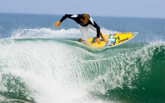 surfing, волну