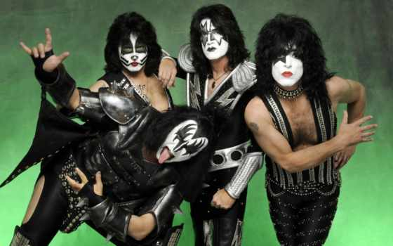 rock, группа, поцелуй