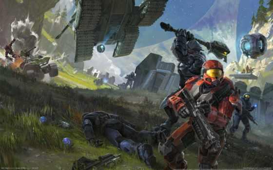 halo, дотянуться, битва, воин, world, оружие, monster, forge, картинка, танк, warcraft,