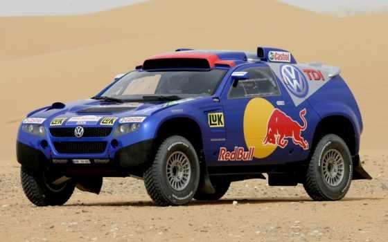 touareg, volkswagen, dakar, blue, rally, туарег, jeep, пустыня, race, fotos,