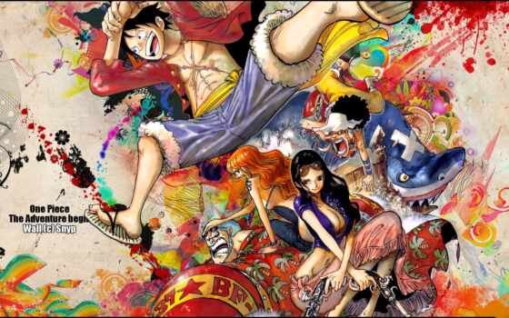 one, piece, wallpaper, hd, anime, manga, картинку, konachan, аниме, begin, adventure, franky, nico, sample,