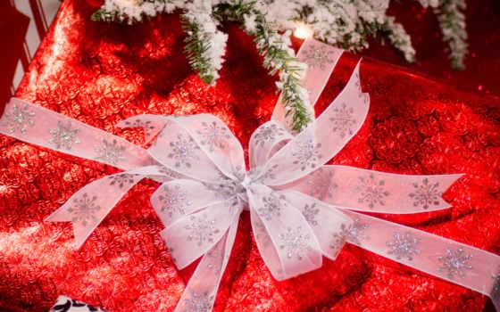 god, подарок, новый, дек, новогоднии, красный,