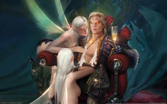 аллоды, online, elfy