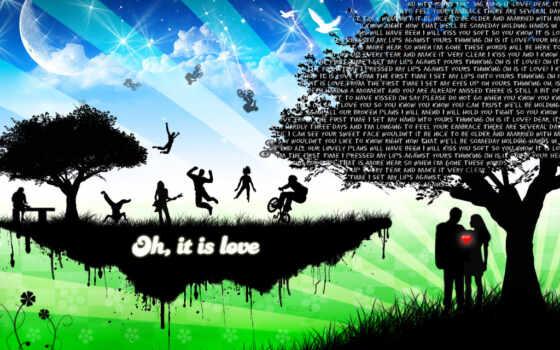 love, you, images Фон № 122133 разрешение 1024x768