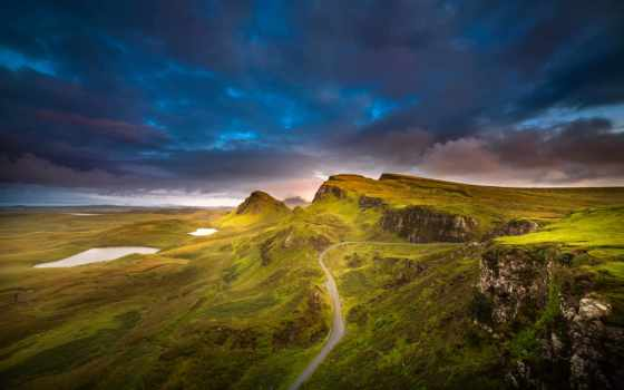 skye, isle, hebrides, inner, шотландия, free, изображение, остров,