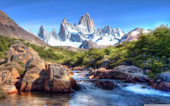 фицрой, peak, roy, монте, fitz, патагонии, туры, аргентина, могут,