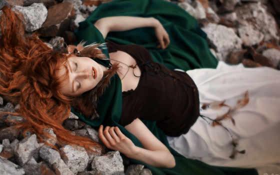 северная, катя, ekaterina, deviantart, cosplay, волосами, девушка, рыжими,